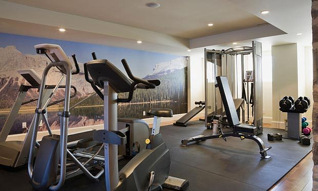 Fitness equipment for home gym for Home gym interior design